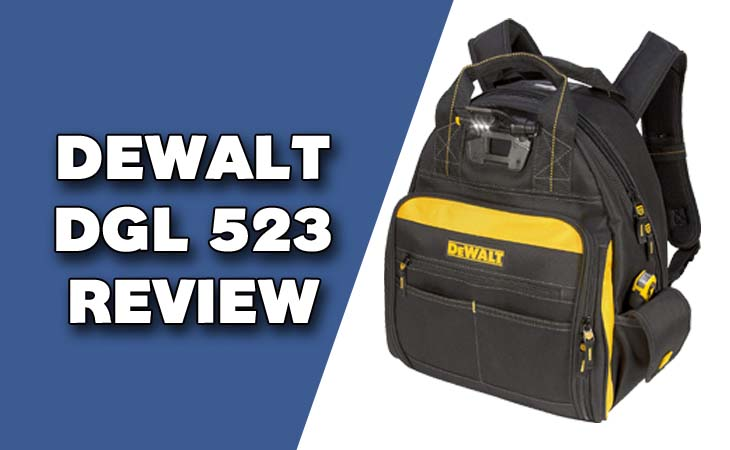 dewalt dgl523 tool bag review