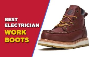 best electrician work boots